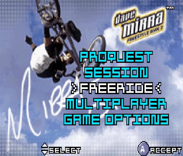 Dave Mirra Freestyle BMX3 Acclaim Nintendo Game Boy Advance GBA Xtreme Retro 3