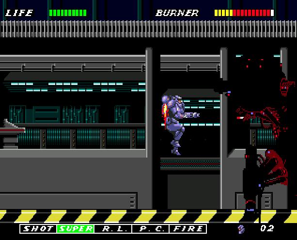 Eswat Cyber Police City Under Siege Sega Genesis Mega Drive Arcade Xtreme Retro 4