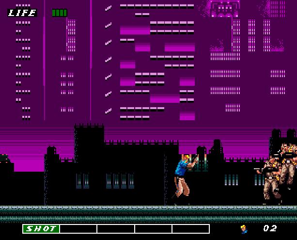 Eswat Cyber Police City Under Siege Sega Genesis Mega Drive Arcade Xtreme Retro 6