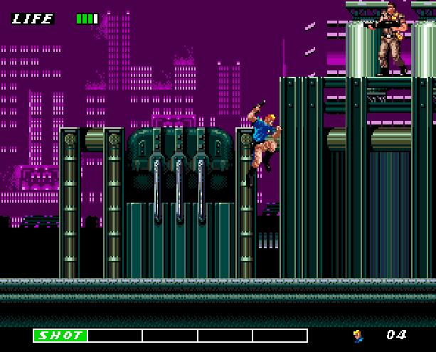 Eswat Cyber Police City Under Siege Sega Genesis Mega Drive Arcade Xtreme Retro 9