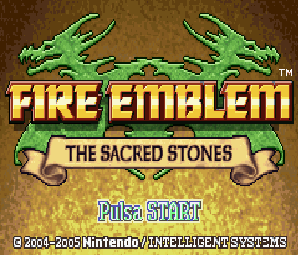 Fire Emblem The Sacred Stones Nintendo Game Boy Advance GBA Xtreme Retro 1