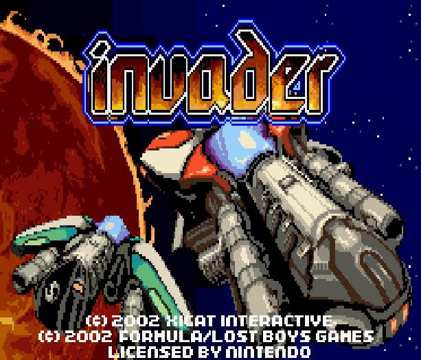 Invader Nintendo Game Boy Advance GBA Xtreme Retro 1