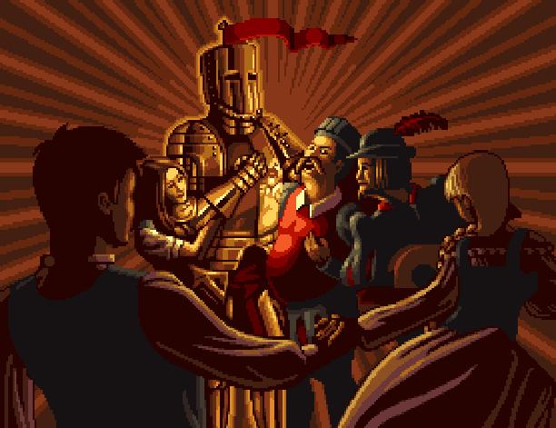 Legion the Legend of Excalibur Virgin Midway PlayStation 2 PS2 Xtreme Retro Pixel Art