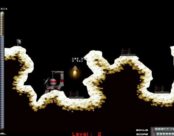 Lunar Lander Atari Remake PC Indie Fangame Xtreme Retro 2