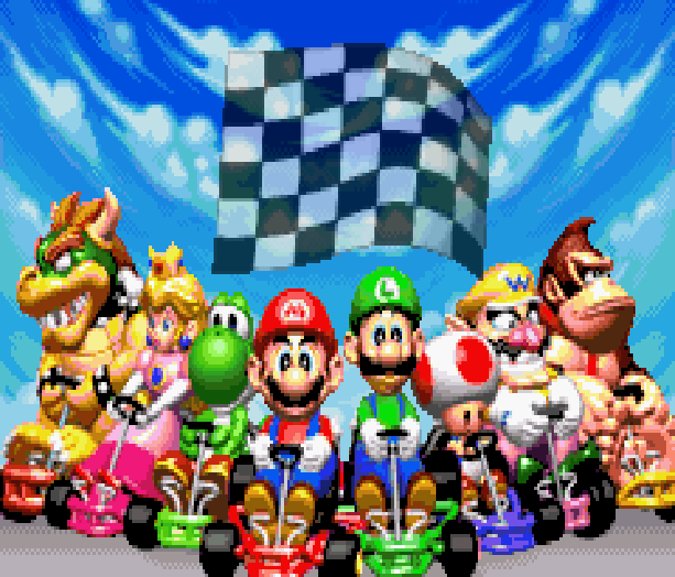 Mario Kart Super Circuit Nintendo Game Boy Advance GBA Xtreme Retro 1