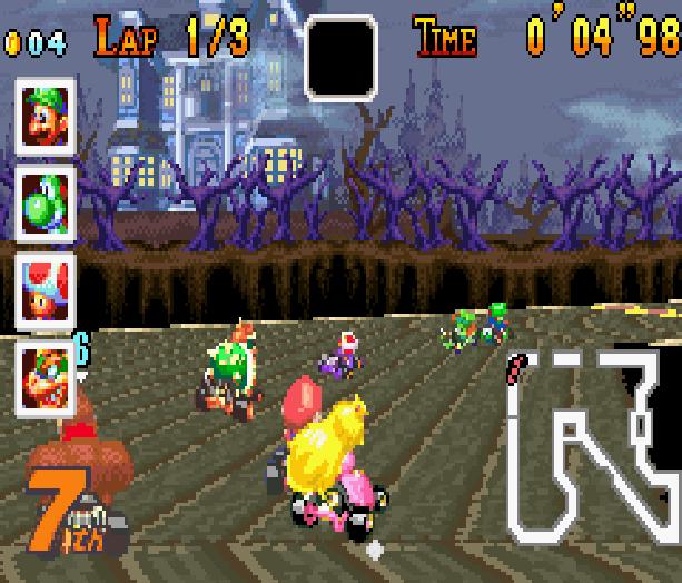 Mario Kart Super Circuit Nintendo Game Boy Advance GBA Xtreme Retro 10