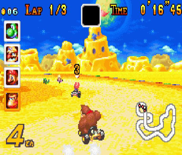Mario Kart Super Circuit Nintendo Game Boy Advance GBA Xtreme Retro 11