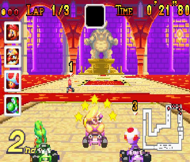 Mario Kart Super Circuit Nintendo Game Boy Advance GBA Xtreme Retro 12