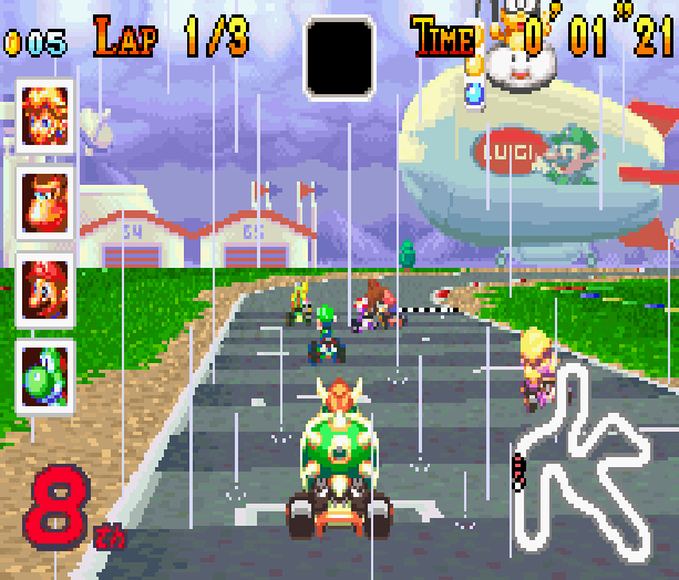 Mario Kart Super Circuit Nintendo Game Boy Advance GBA Xtreme Retro 13