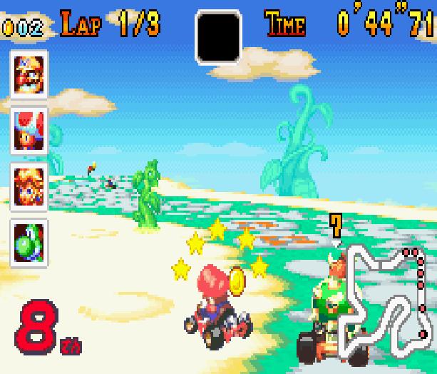 Mario Kart Super Circuit Nintendo Game Boy Advance GBA Xtreme Retro 14