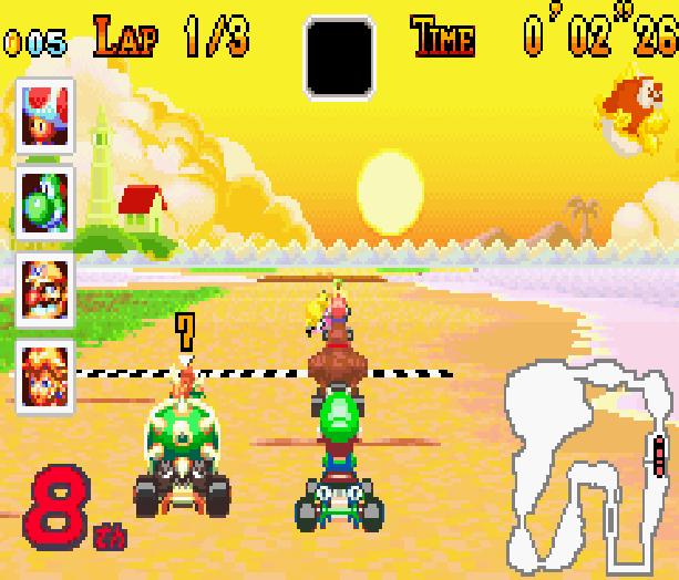Mario Kart Super Circuit Nintendo Game Boy Advance GBA Xtreme Retro 15
