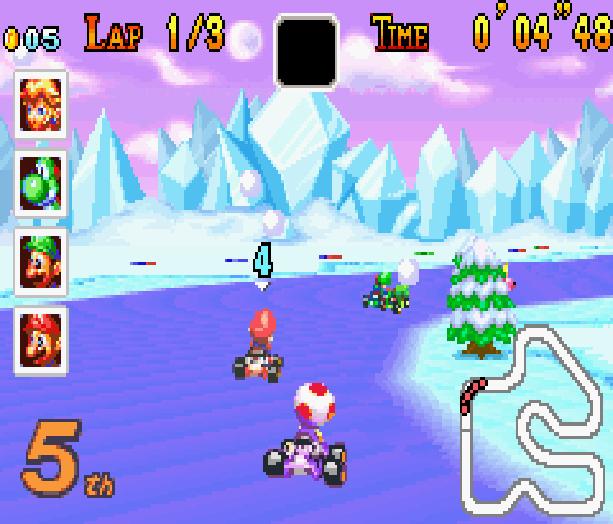 Mario Kart Super Circuit Nintendo Game Boy Advance GBA Xtreme Retro 17