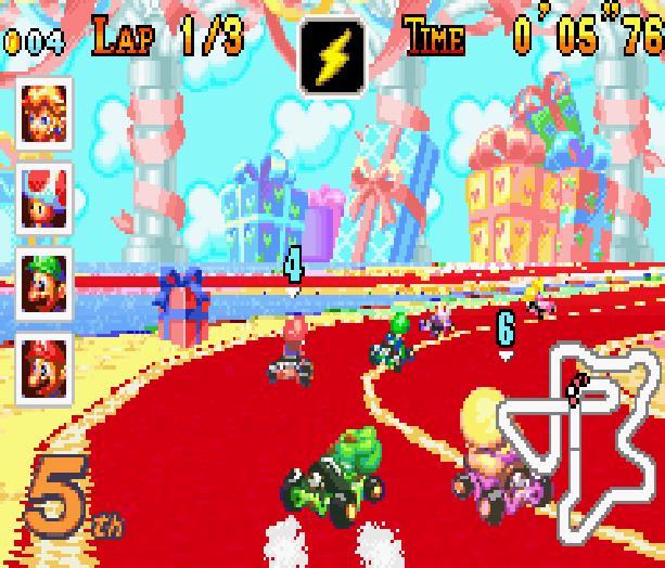 Mario Kart Super Circuit Nintendo Game Boy Advance GBA Xtreme Retro 18