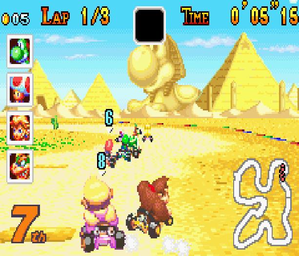 Mario Kart Super Circuit Nintendo Game Boy Advance GBA Xtreme Retro 19