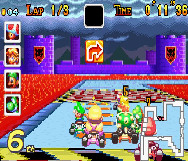 Mario Kart Super Circuit Nintendo Game Boy Advance GBA Xtreme Retro 20