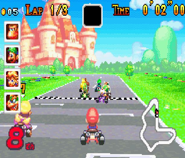 Mario Kart Super Circuit Nintendo Game Boy Advance GBA Xtreme Retro 5