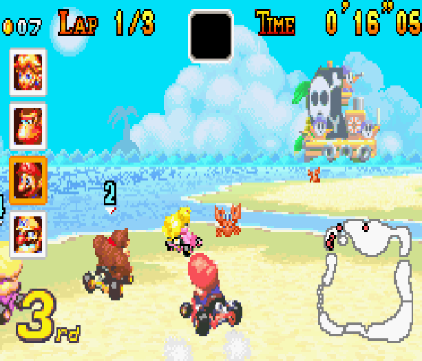 Mario Kart Super Circuit Nintendo Game Boy Advance GBA Xtreme Retro 6
