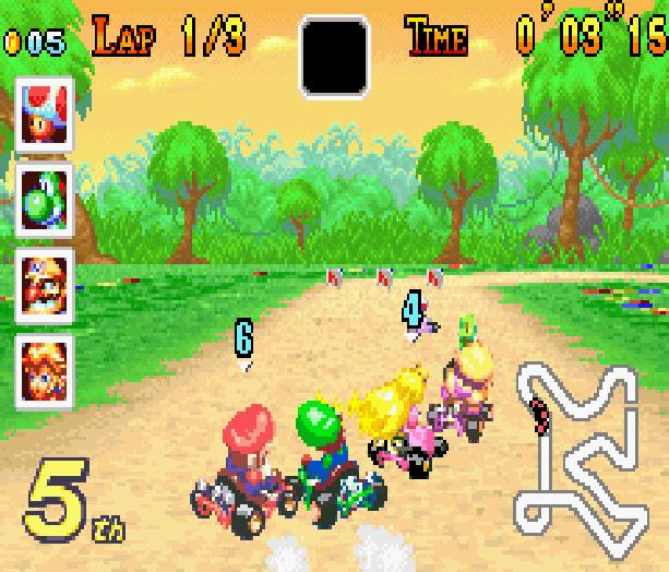Mario Kart Super Circuit Nintendo Game Boy Advance GBA Xtreme Retro 7