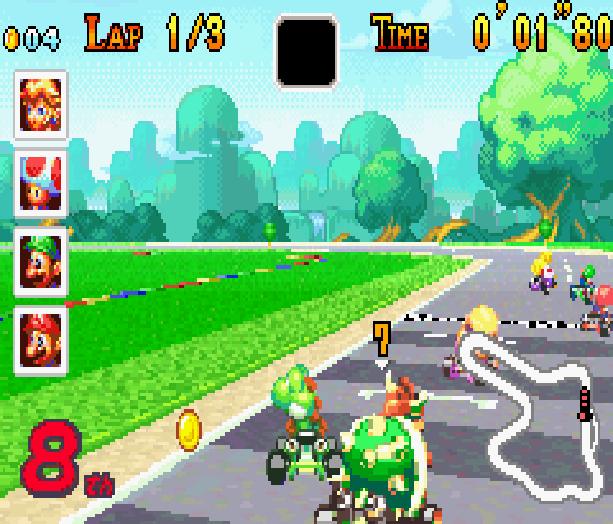 Mario Kart Super Circuit Nintendo Game Boy Advance GBA Xtreme Retro 9