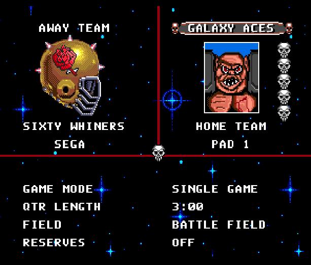 Mutant League Football Electronic Arts Sega Genesis Mega Drive Xtreme Retro 6