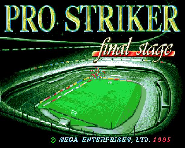 Pro Striker Final Stage Sega Genesis Mega Drive J League Soccer Xtreme Retro 1