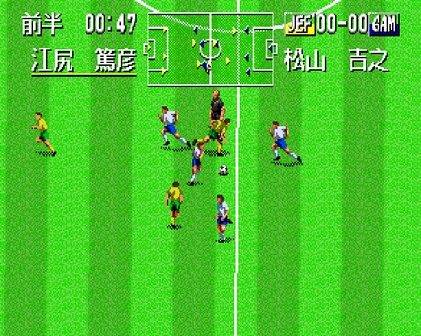Pro Striker Final Stage Sega Genesis Mega Drive J League Soccer Xtreme Retro 10