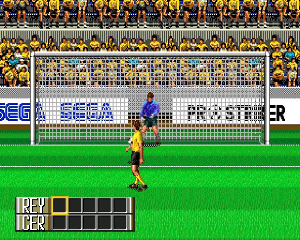 Pro Striker Final Stage Sega Genesis Mega Drive J League Soccer Xtreme Retro 13