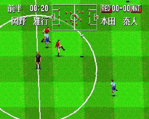 Pro Striker Final Stage Sega Genesis Mega Drive J League Soccer Xtreme Retro 6