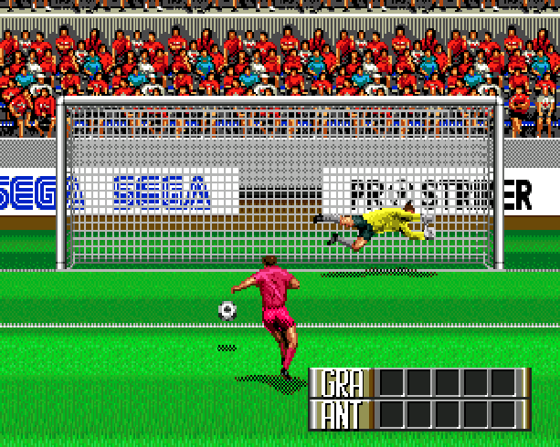 Pro Striker Final Stage Sega Genesis Mega Drive J League Soccer Xtreme Retro 9