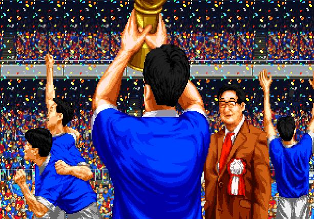 Pro Striker Final Stage Sega Genesis Mega Drive J League Soccer Xtreme Retro Pixel Art