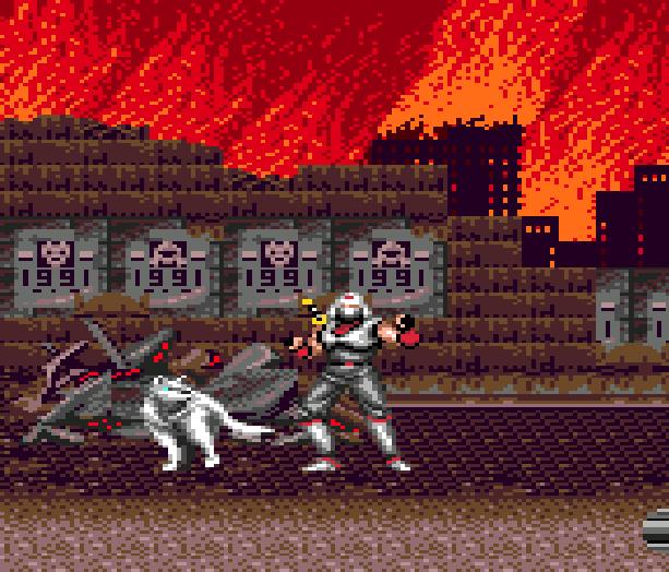 Shadow Dancer Dog Pixel Art Sega Mega Drive Genesis Arcade Game Gear Xtreme Retro 2