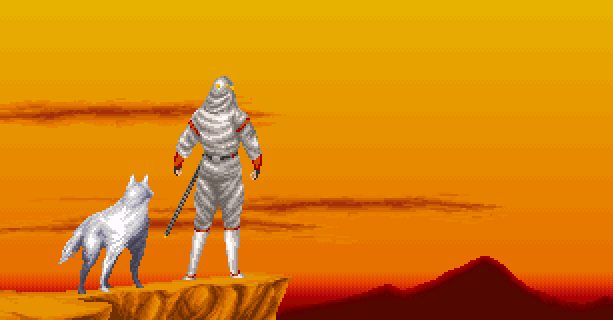 Shadow Dancer Dog Pixel Art Sega Mega Drive Genesis Arcade Game Gear Xtreme Retro 3