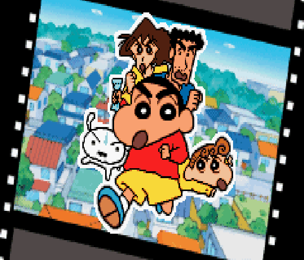 Shin Chan Manga Pixel Art Xtreme Retro
