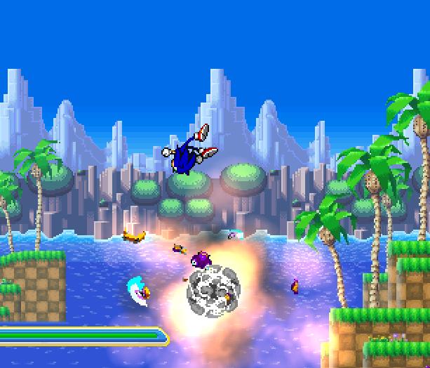 Sonic Generations Fan Game SAGE 2014 Demo PC YoYo Games Xtreme Retro 5
