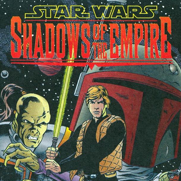 Star Wars Shadows of the Empire Comics Lucas Xtreme Retro