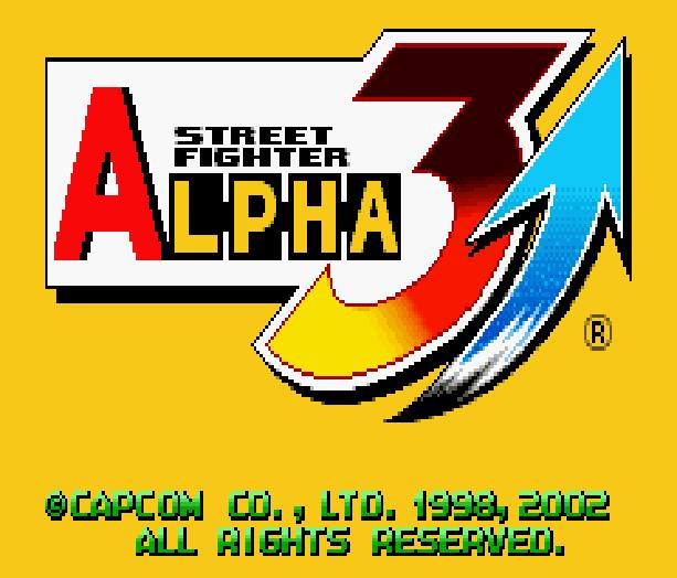 Street Fighter Alpha 3 SFA3 Zero Upper Capcom Nintendo Game Boy Advance GBA Xtreme Retro 1
