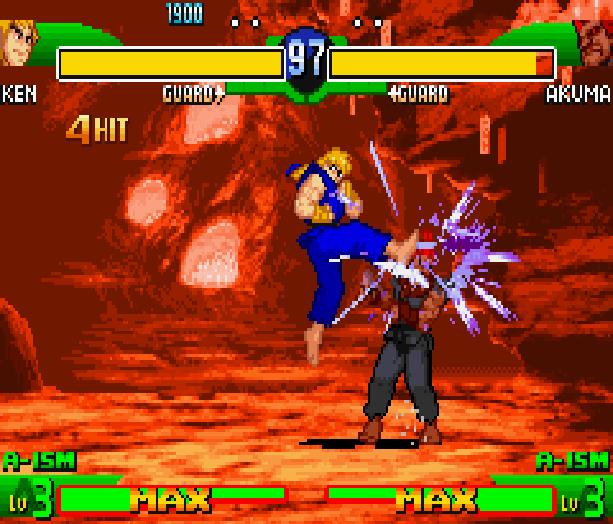 Street Fighter Alpha 3 SFA3 Zero Upper Capcom Nintendo Game Boy Advance GBA Xtreme Retro 10