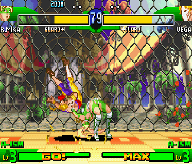 Street Fighter Alpha 3 SFA3 Zero Upper Capcom Nintendo Game Boy Advance GBA Xtreme Retro 11