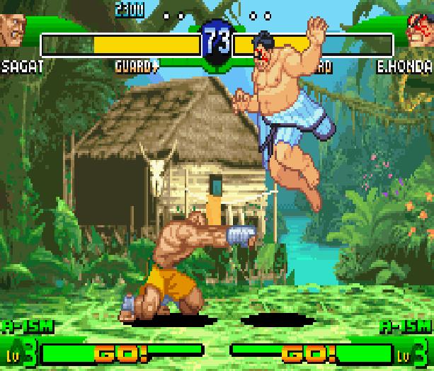 Street Fighter Alpha 3 SFA3 Zero Upper Capcom Nintendo Game Boy Advance GBA Xtreme Retro 13