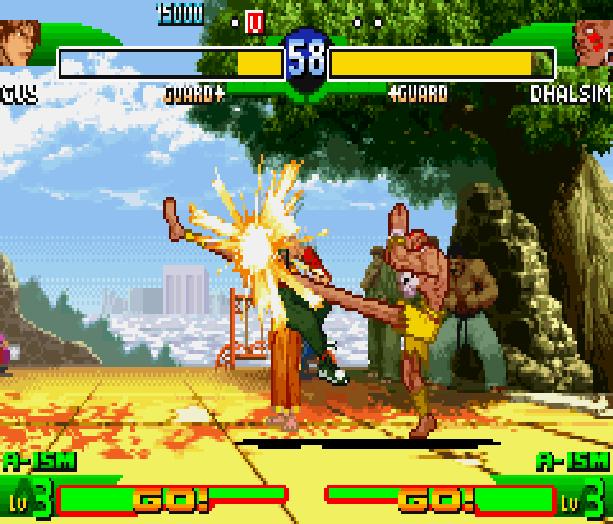 Street Fighter Alpha 3 SFA3 Zero Upper Capcom Nintendo Game Boy Advance GBA Xtreme Retro 14