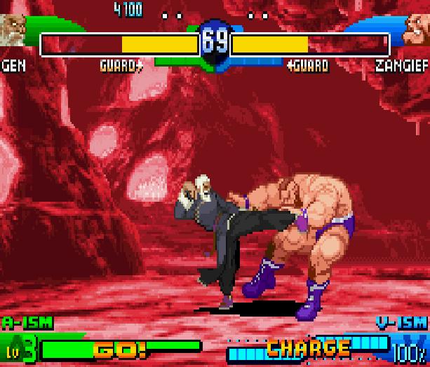 Street Fighter Alpha 3 SFA3 Zero Upper Capcom Nintendo Game Boy Advance GBA Xtreme Retro 15