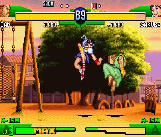 Street Fighter Alpha 3 SFA3 Zero Upper Capcom Nintendo Game Boy Advance GBA Xtreme Retro 17