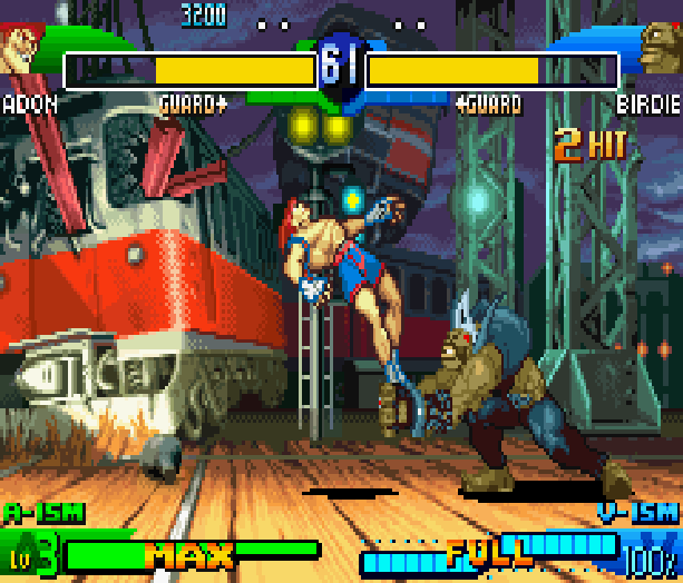 Street Fighter Alpha 3 SFA3 Zero Upper Capcom Nintendo Game Boy Advance GBA Xtreme Retro 18