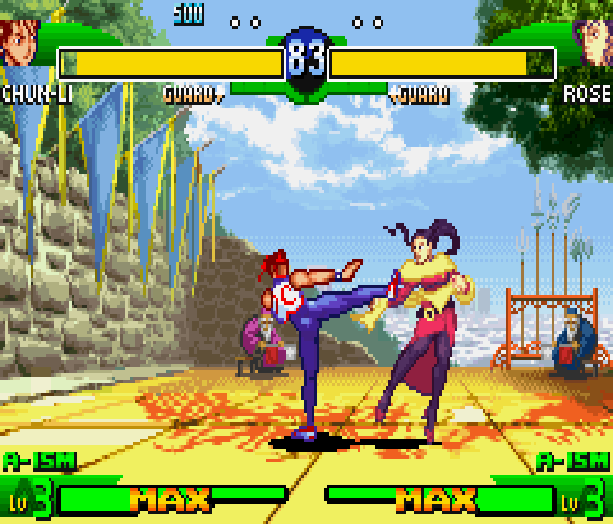 Street Fighter Alpha 3 SFA3 Zero Upper Capcom Nintendo Game Boy Advance GBA Xtreme Retro 19