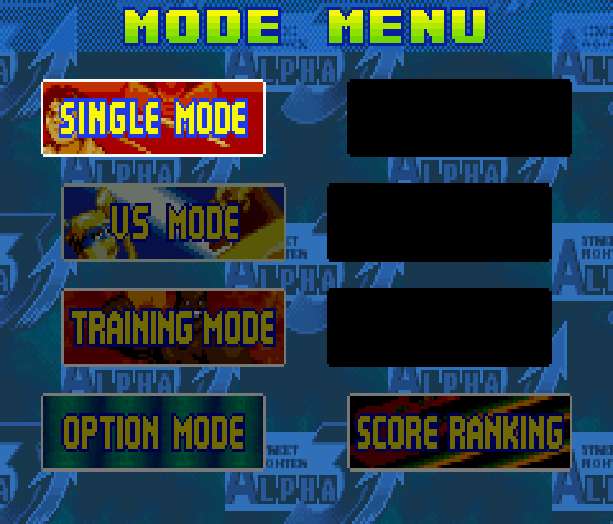 Street Fighter Alpha 3 SFA3 Zero Upper Capcom Nintendo Game Boy Advance GBA Xtreme Retro 2