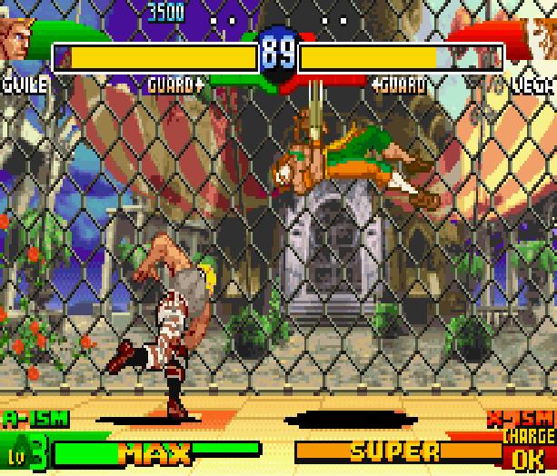 Street Fighter Alpha 3 SFA3 Zero Upper Capcom Nintendo Game Boy Advance GBA Xtreme Retro 20
