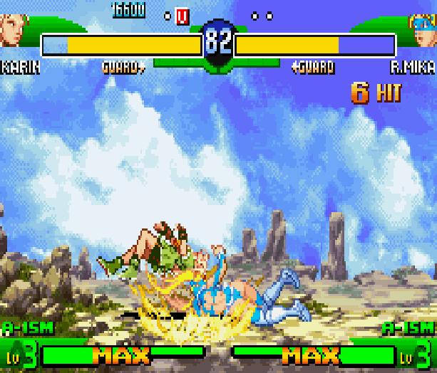 Street Fighter Alpha 3 SFA3 Zero Upper Capcom Nintendo Game Boy Advance GBA Xtreme Retro 21