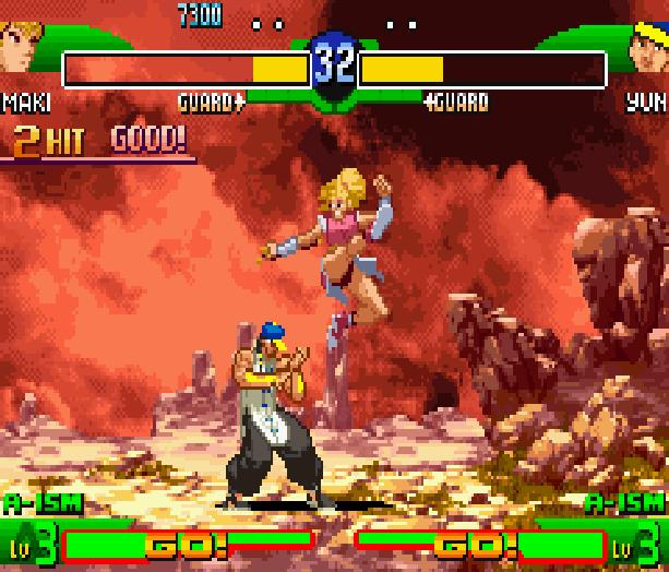 Street Fighter Alpha 3 SFA3 Zero Upper Capcom Nintendo Game Boy Advance GBA Xtreme Retro 22