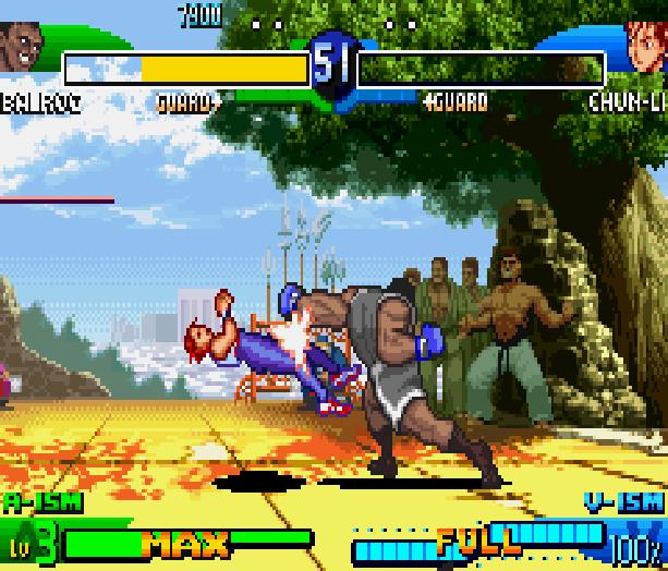 Street Fighter Alpha 3 SFA3 Zero Upper Capcom Nintendo Game Boy Advance GBA Xtreme Retro 23