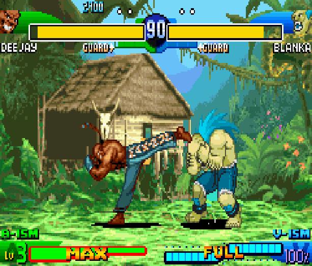 Street Fighter Alpha 3 SFA3 Zero Upper Capcom Nintendo Game Boy Advance GBA Xtreme Retro 24